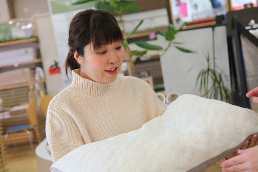 オーダーメイド枕のアフターメンテナンス